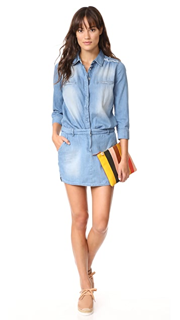 Etienne Marcel Jackie Denim Mini Dress