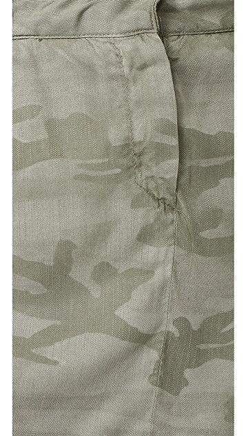 Etienne Marcel Jackie Camo Jumpsuit Dress