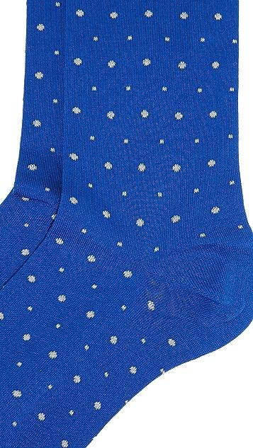 Etiquette Ball Point Socks