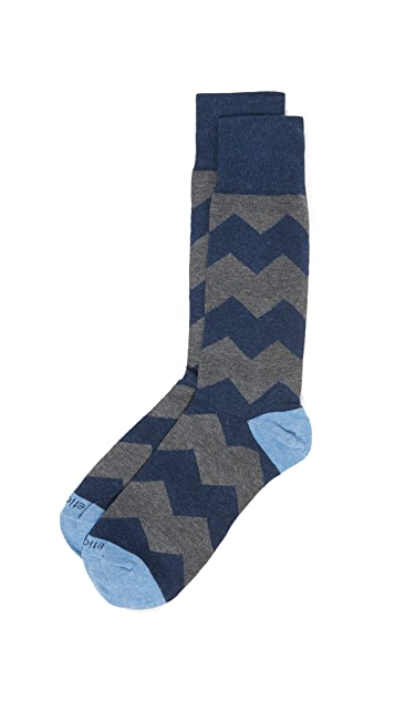 Etiquette Everest Striped Socks