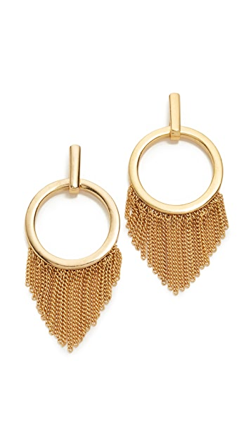 Ettika Closed Curves Earrings