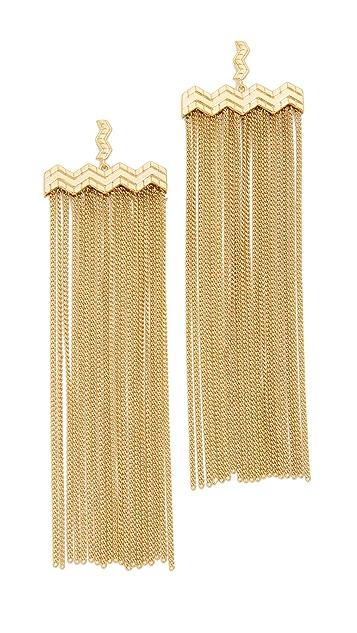 Ettika Fine Lines Earrings
