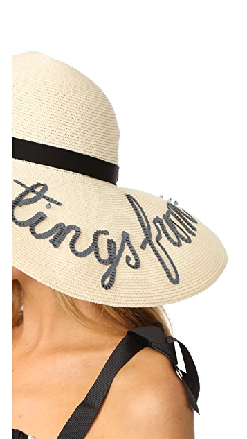 Eugenia Kim Bunny 'Greetings from...' Hat