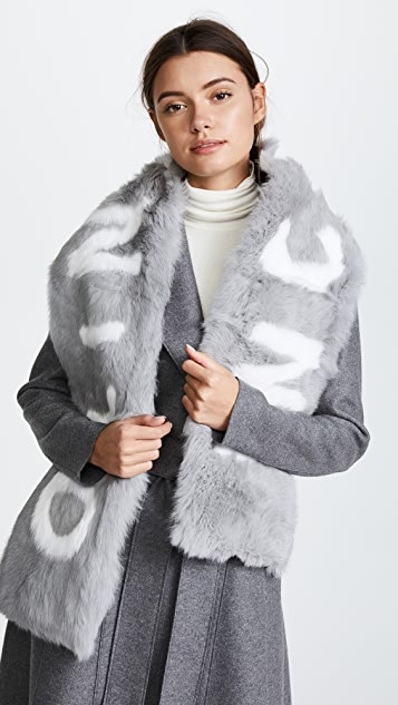 Eugenia Kim Colden INCOGNITO Fur Scarf