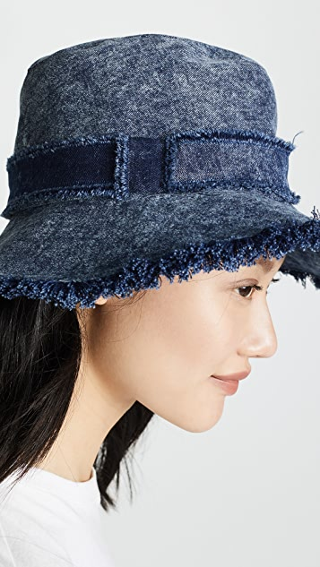 Eugenia Kim Jordana Denim Hat