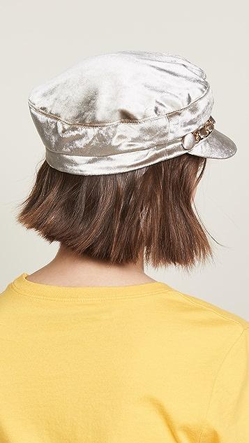 Eugenia Kim Marina Velvet Hat