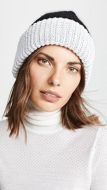 Eugenia Kim Двусторонняя меланжевая шляпа