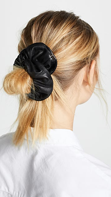 Eugenia Kim Mallory Leather Scrunchie