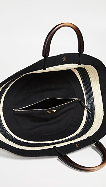 Eugenia Kim Объемная сумка с короткими ручками Flavia