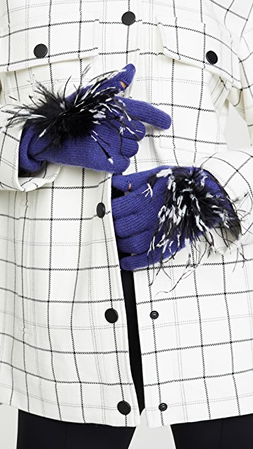 Eugenia Kim Sloane 开司米羊绒手套