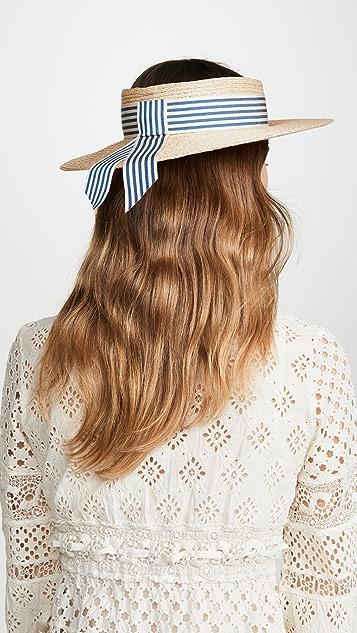 Eugenia Kim Lettie 鸭舌系带帽