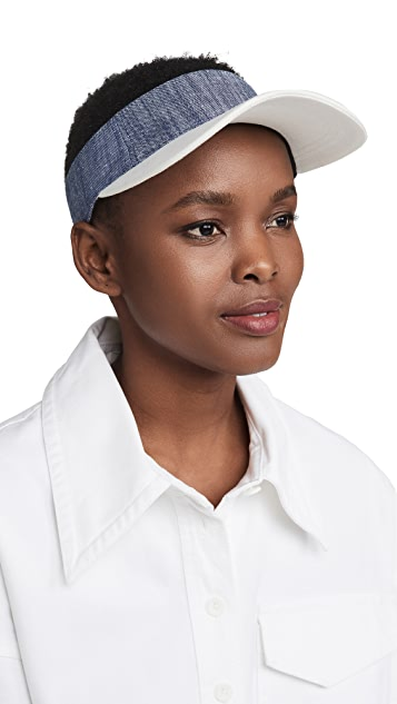 Eugenia Kim Paige 鸭舌系带帽