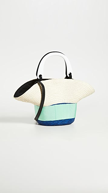 Eugenia Kim Объемная сумка с короткими ручками Evie