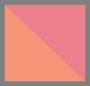 橙色/粉色