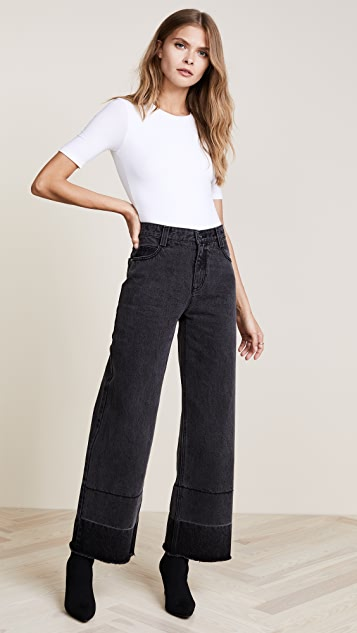EVIDNT Wide Leg Jeans