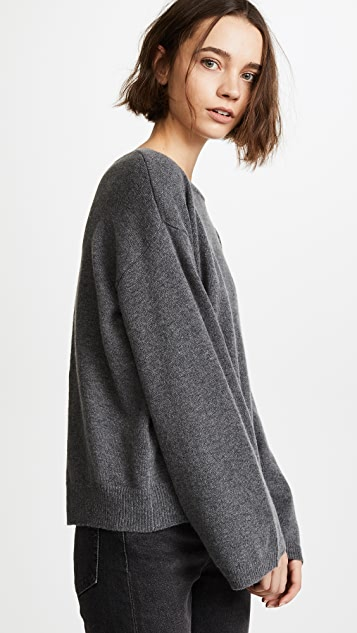 EVIDNT Back Buckle Sweater