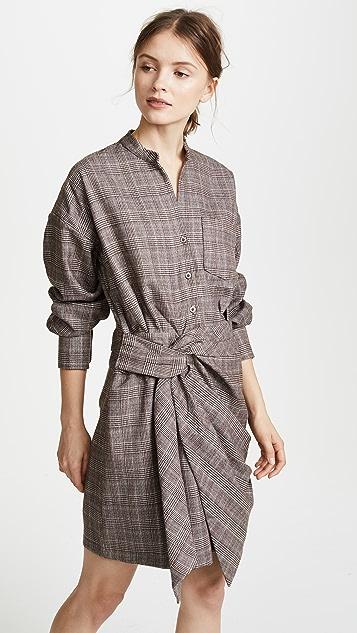 EVIDNT Twist Detailed Dress