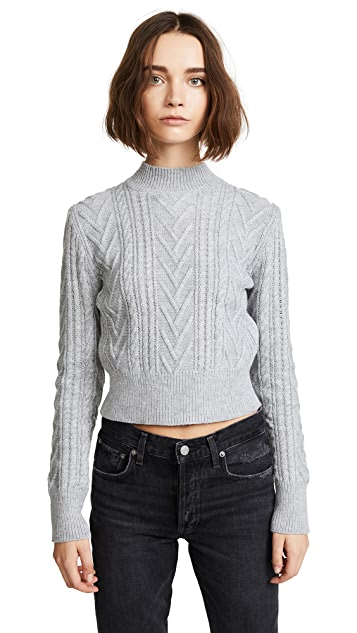 EVIDNT Cable Sweater