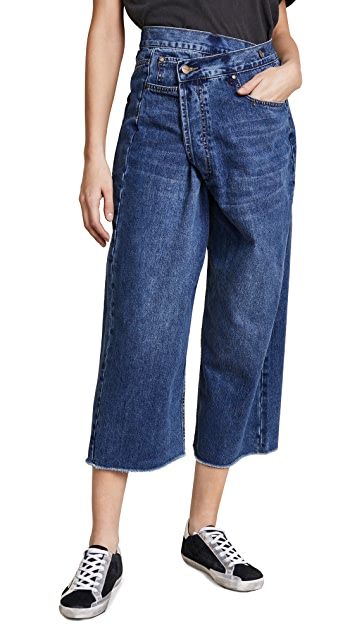 EVIDNT Nice Wide Leg Jeans