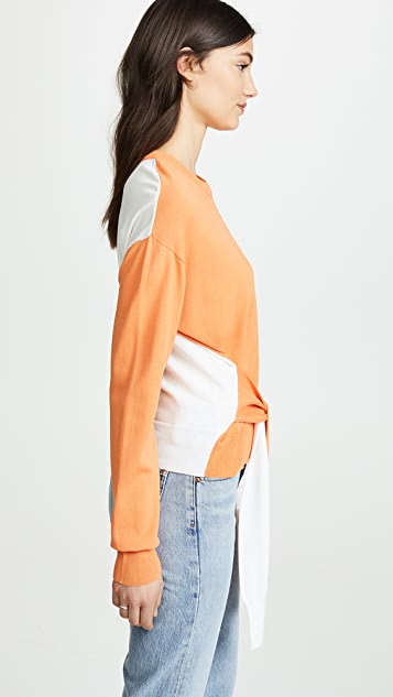 EVIDNT Two Tone Pullover