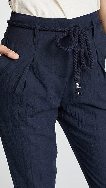 EVIDNT Paper Bag Pants