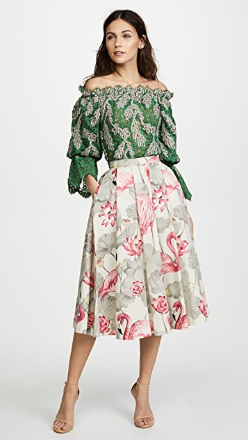 Ewa Herzog Flamingo Skirt