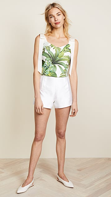 Ewa Herzog Palm Print Top