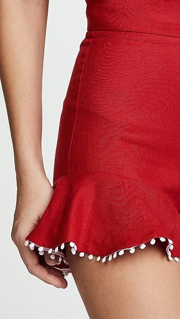 Ewa Herzog Linen Shorts