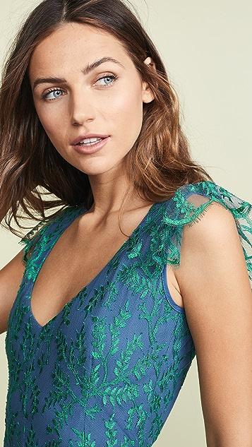 Ewa Herzog Layered Lace Dress