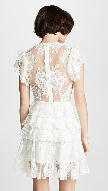 Ewa Herzog Многоуровневое платье с округлым вырезом