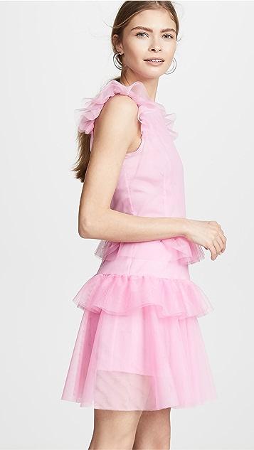 Ewa Herzog Tiered Mini Dress