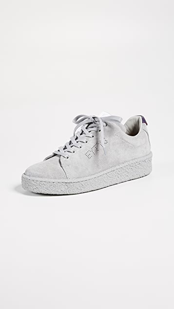 Eytys Ace Suede Sneakers - Cement