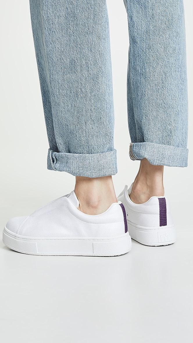 Eytys Doja S-O Coated Sneakers | SHOPBOP
