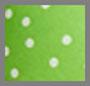 绿色圆点花纹