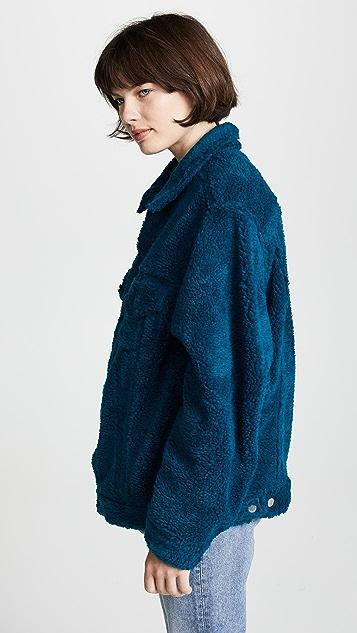Facetasm Faux Shearling Jacket