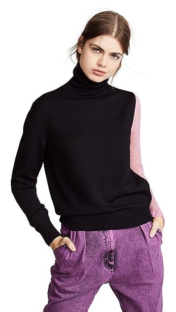 Facetasm Colorblock Sweater