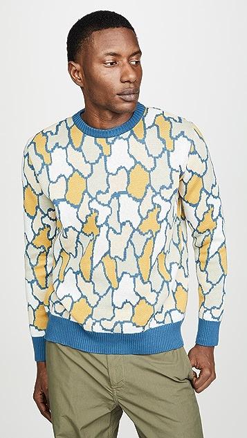 Far Afield Jazz Camo Sweater