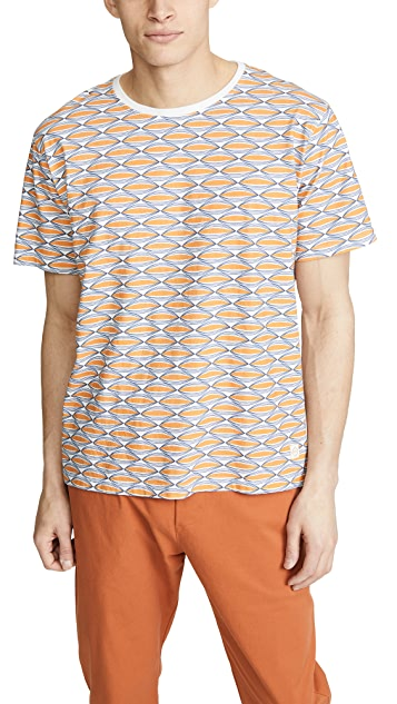 Far Afield Wallington Printed Tee