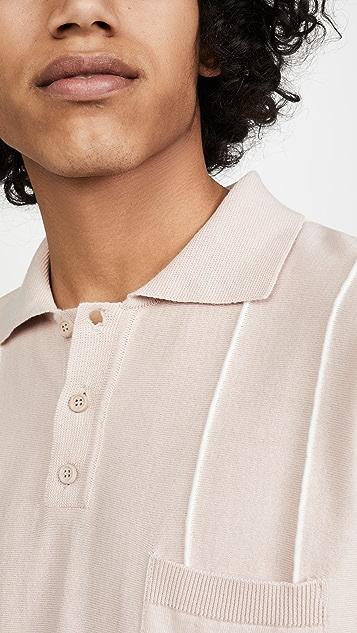 Far Afield Alfaro Short Sleeve Dress Polo