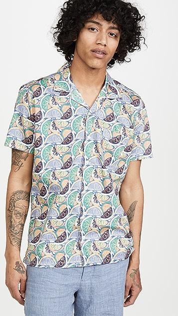 Far Afield Stachio Short Sleeve Shirt