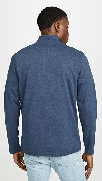 Faherty Suffolk Zip Pullover