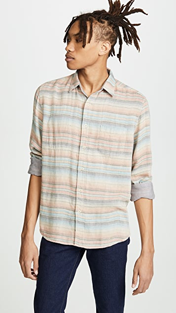 Faherty Long Sleeve Reversible Belmar Shirt