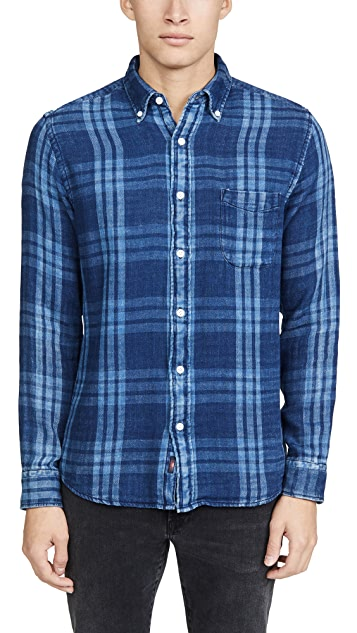 Faherty Double Cloth Pacific Shirt