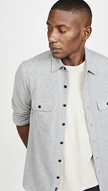 Faherty Long Sleeve Legend Sweater Shirt