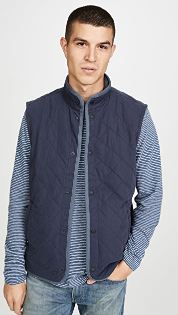 Faherty The Reversible Vest