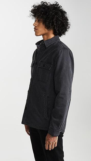 Faherty Blanket Lined CPO Jacket