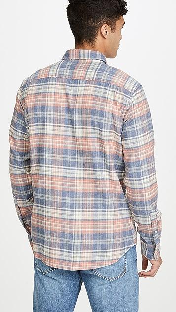 Faherty Long Sleeve Stretch Seaview Shirt