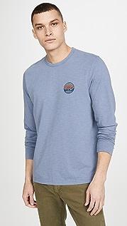 Faherty California Print Long Sleeve T-Shirt