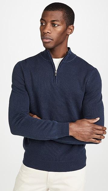 Faherty Montego Quarter Zip Pullover
