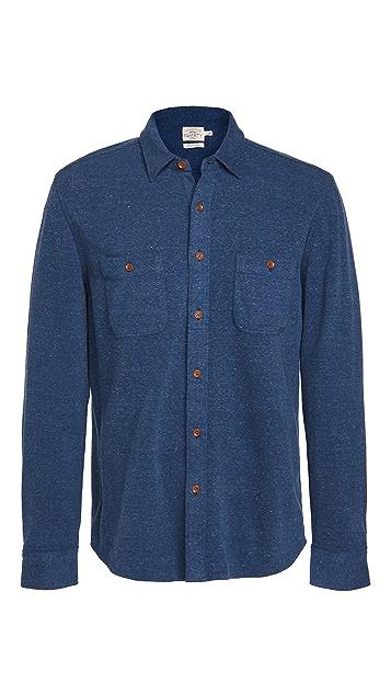 Faherty Knit Apline Shirt